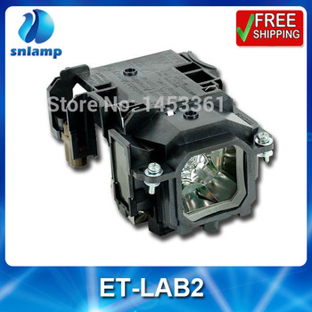 Replacement projector bulb lamp with housing ET-LAB2 for PT-LB1 PT-LB2 PT-LB1EA PT-LB2EA PT-ST10 PT-LB3