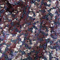 color sequins mesh embroidery lace fabric Wedding Dress Tulle Skirt Material fabrics for patchwork kumas telas por metros