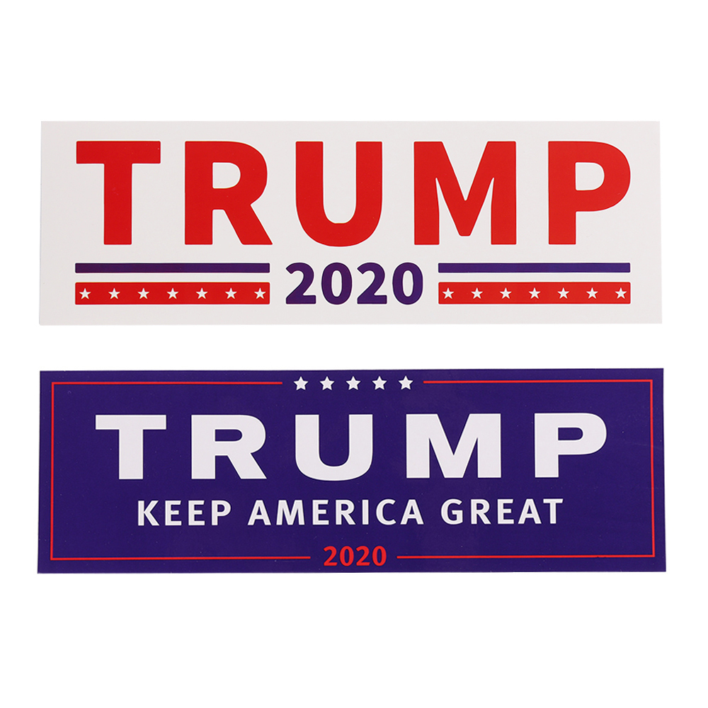 4Pcs MAGA Donald Trump 2020 Sticker DIY Decal Decor For Window Laptop Car Bumper