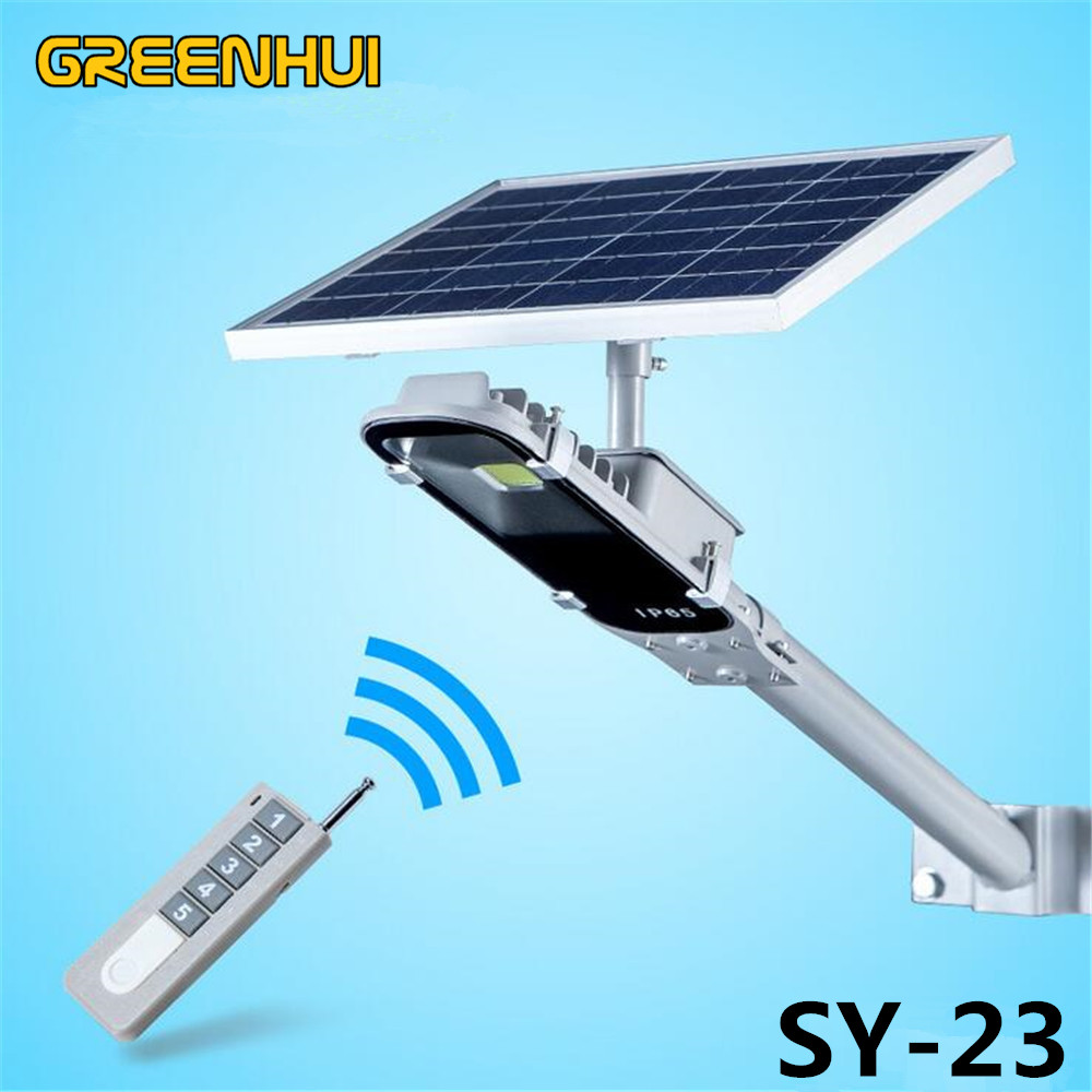 8W LED Solar lamp 12W solar Power Panel Ray Sensor/Remote/time control LED Street Light Outdoor Garden Path Spot Wall Emergency 5 pieces lot solar powered panel led street light solar lighting outdoor path wall emergency lamp security flood light