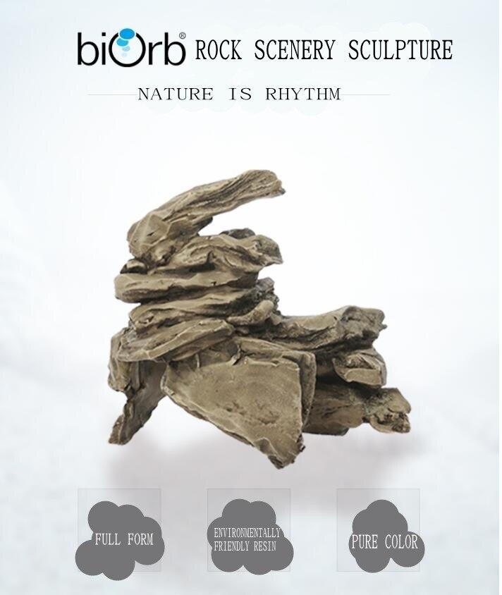 Réservoir de poisson original OASE British biorb imitant des ornements de roche empilés Aquarium imitant la roche d'empilage pour l'aménagement paysager réaliste