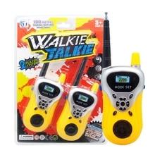 2 шт. новые рации телефон детские игрушки электронные гаджеты Ninos игрушки для детей развивающие игры родитель-ребенок игры
