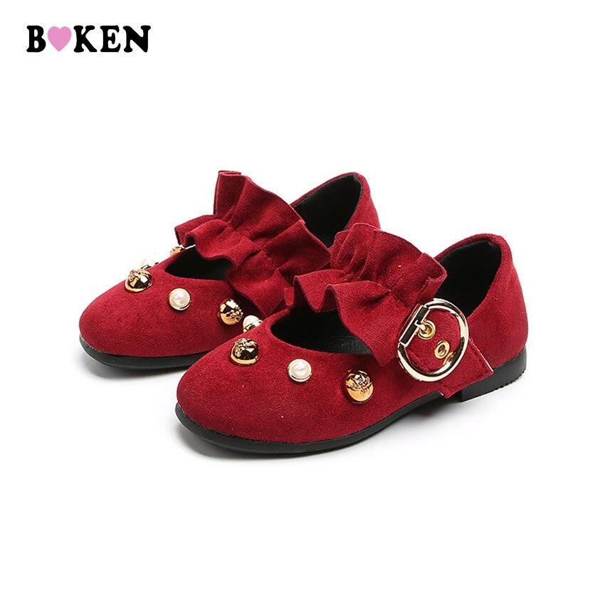 BOKEN Meisje Platte schoenen Nieuwe schattige stijl Peuter Meisje - Kinderschoenen - Foto 1