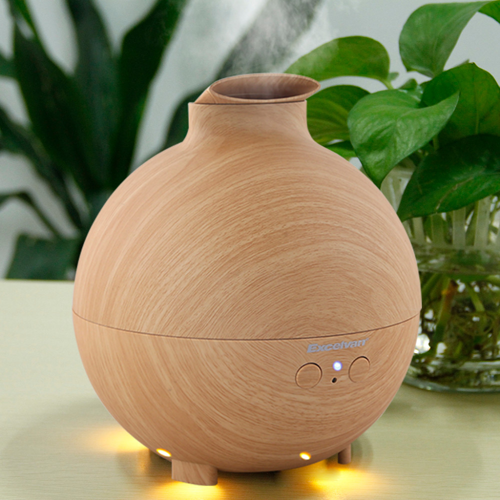 142638201_4_Excelvan Essential Oil Aroma Diffuser Ultrasonic Humidifier Air Mist Aromatherapy Purifier Woodgrain Model 20006A EU