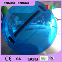 Free Shipping 2m Diameter 0.8mm PVC Inflatable Zorb Ball Water Walking Ball Walk On Water Inflatable Human Hamster Ball