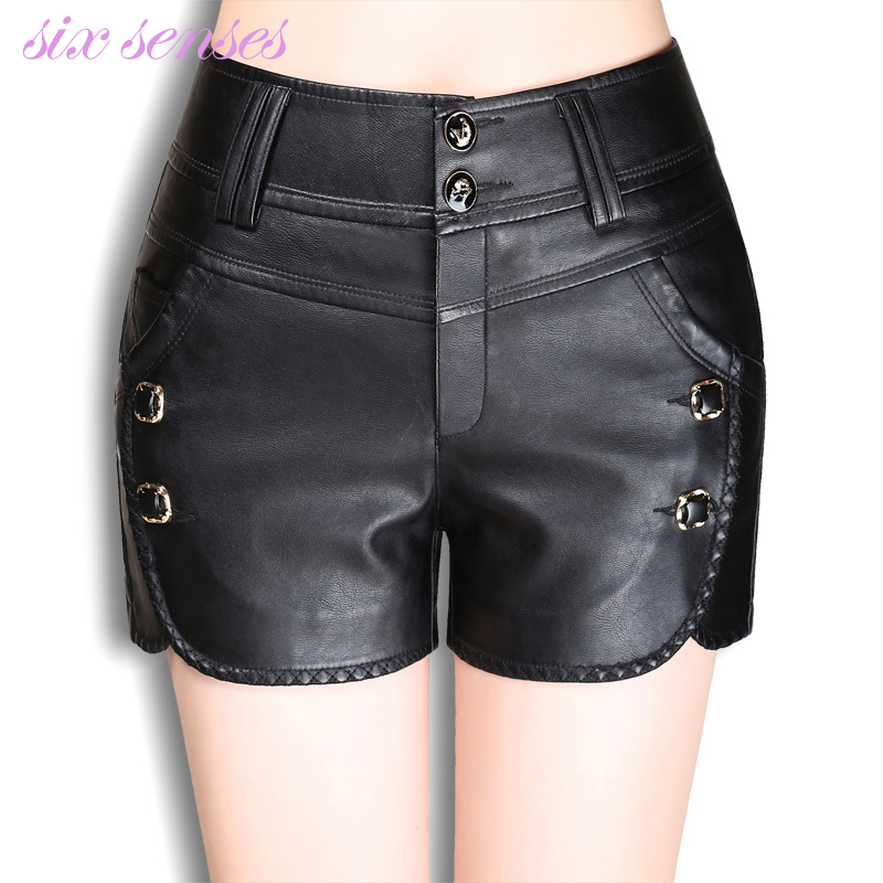 Jupes Printemps Noir Cuir Taille Sexy Et Short Court Femmes Pantalon Plus De  Dame En Shorts Mi taille Automne Pu Hh0072 Mince Mode w4vTEtqv 5fa42dd4492