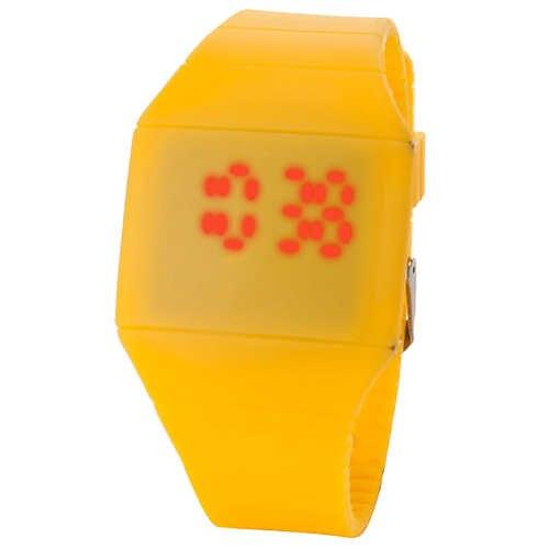 ספורט שעון אופנה גברים ליידי מגע דיגיטלי LED סיליקון ספורט שעוני יד דק שעון montre homme