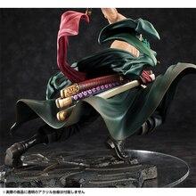 ¡Anime una pieza 18 cm Roronoa Zoro SA-MAXIMUM Ver! PVC figura de acción modelo de recogida Juguetes