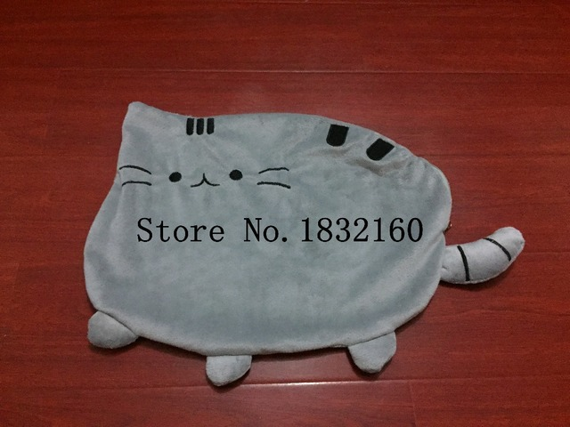 Kawaii Pusheen Cat Pillow With Zipper