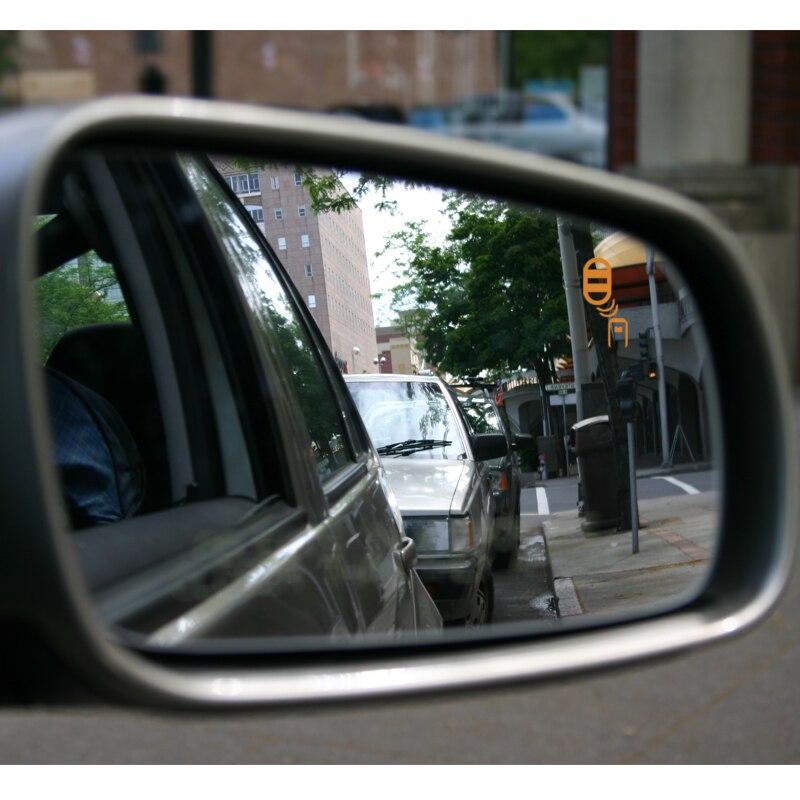 Car BSD BSA BSM LCA Blind Spot Detection System Millimeter Wave Radar Blind Spot Monitoring Assistant Driving Alarm Security