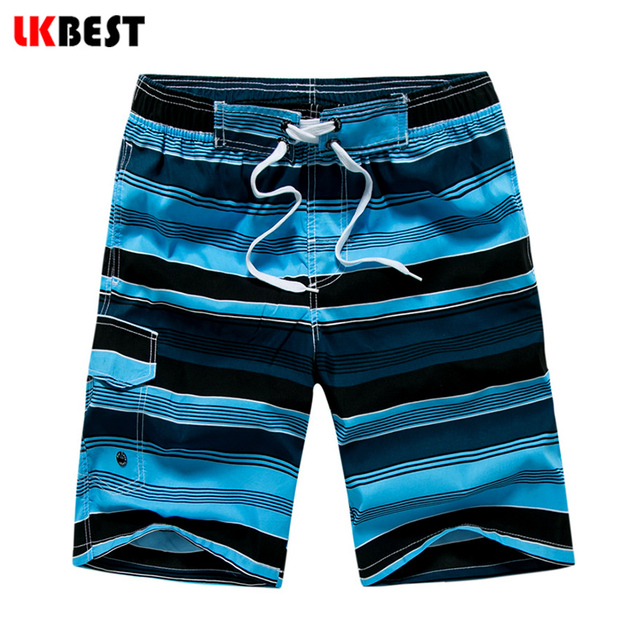 LKBEST Fashion Summer Men's Beach shorts Casual loose Board Shorts quick dry mail Bermuda swimwear plus size M-5XL N1703