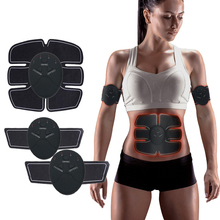 EMS Wireless  Electric Muscle Stimulator Trainer Smart Fitness Abdominal Body For Abdomen Arm Leg Slimming Tool Unisex