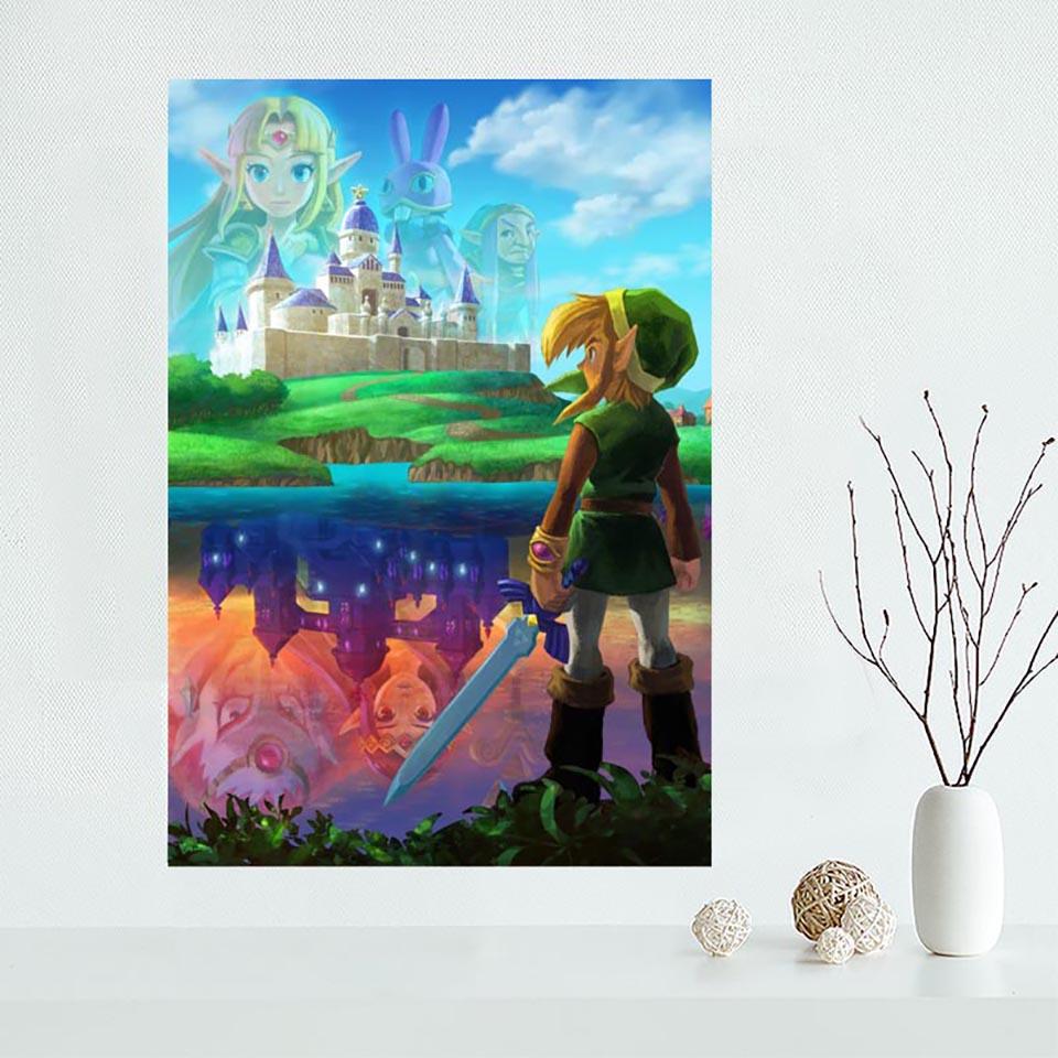 The Legend Of Zelda Wall Art 5D Diamond Painting Cross Stitch Full Square Drill