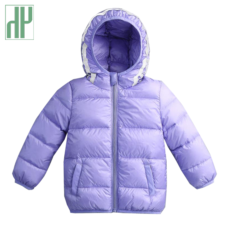 80-130cm Kids winter jacket for Boys duck Down Jackets Coats Warm Thick children coat Infant baby girls parka Hooded Outerwear 2018 winter children boys parka jacket kids thicken warm 90% cotton camouflage hooded coat baby boys girls casual outerwear
