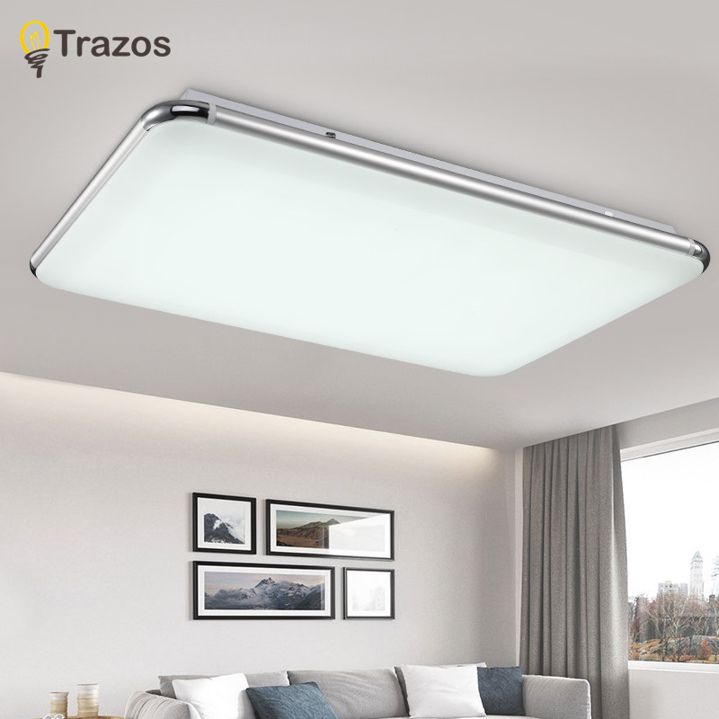NEW Modern LED Ceiling Light With 2.4G RF Remote Group Controlled Dimmable Color Changing Lamp For Livingroom Bedroom AC90-265v kvp 24200 td 24v 200w triac dimmable constant voltage led driver ac90 130v ac170 265v input