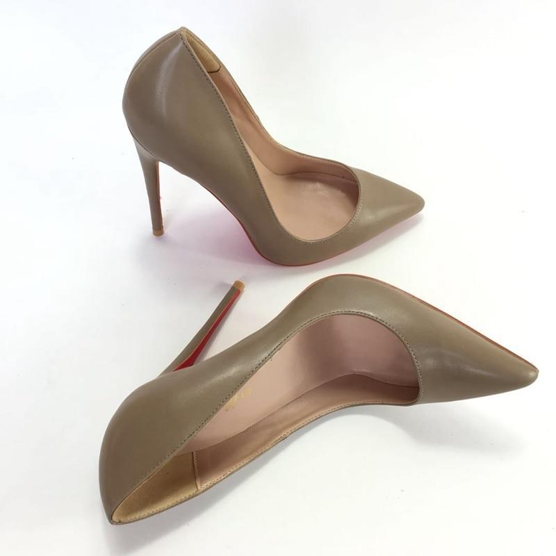 Ayakk.'ten Kadın Pompaları'de 2018 yeni stil kadın yüksek topuklu Sandalspumps OL basit vahşi bayan yüksek topuklu ayakkabı 35 43 sığ moda ayakkabılar slip on ayakkabılar'da  Grup 2