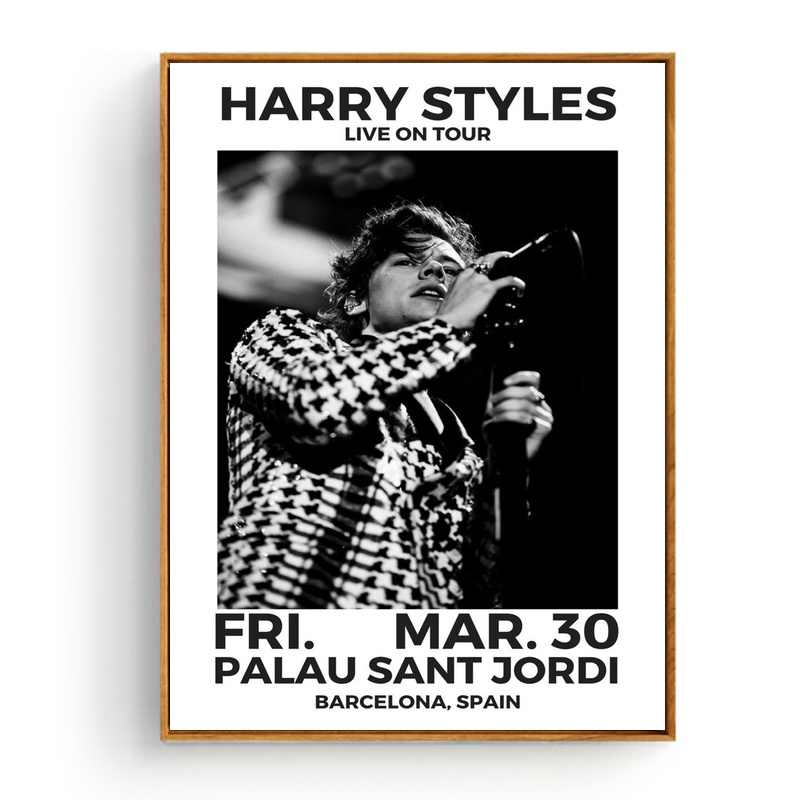 28dbc329ce4e5 Harry Styles Music Star Art Silk Fabric Poster Prints Home Wall Decor  Painting 20x30 Inches