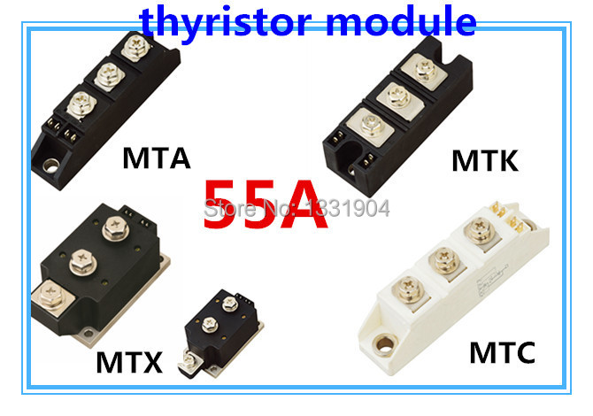 цена на High qualityThyristor Module MFC MFA MFK MFX 55A welding joint scr module silicon control module