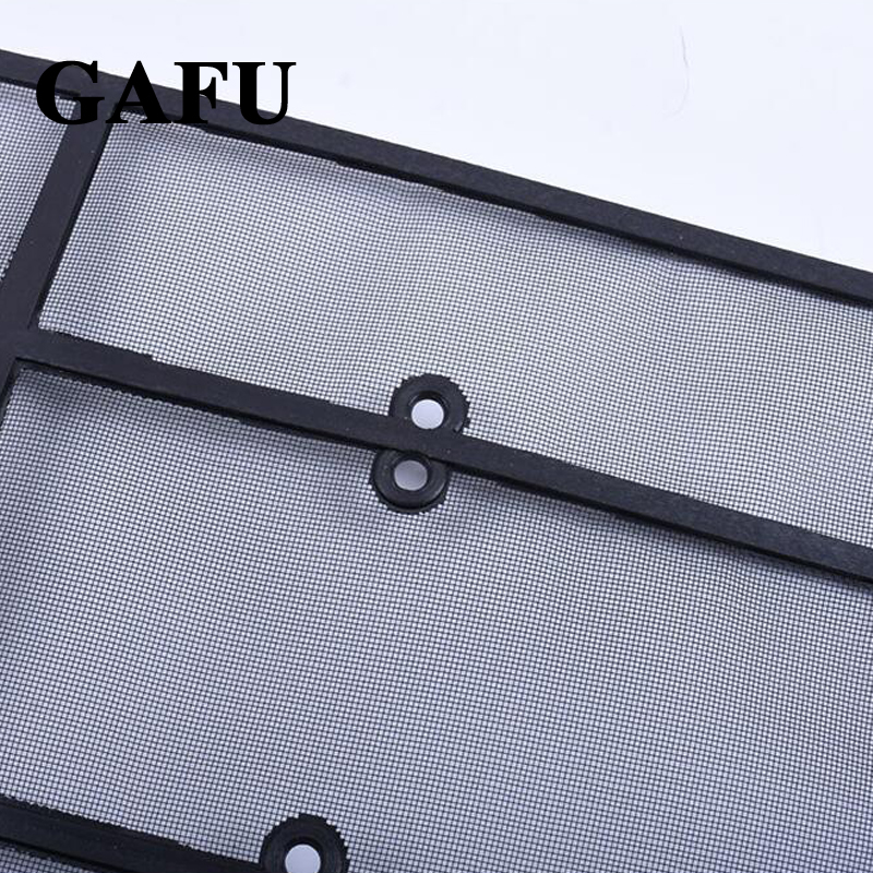 Image 5 - Car Styling For Toyota Land Cruiser Prado 2018 2019 FJ 150 Grille Insect Screening Mesh Front Grille Net Accessories-in Interior Mouldings from Automobiles & Motorcycles