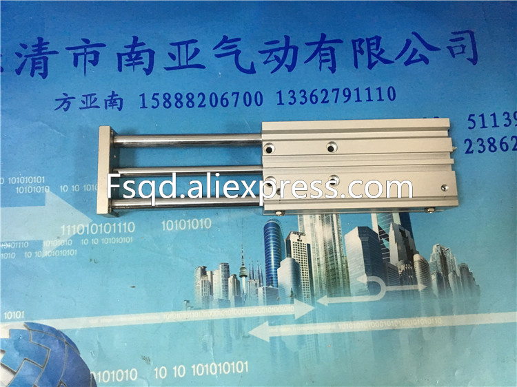 MGPM16-250A MGPM16-300A SMC compact guide cylinder Thin Three-axis cylinder with rod cylinder MGPM series mgpm16 20 smc type mgpm mgpl series three rod guide pneumatic cylinder mgpm 16 20 mgpm16 20z mgpm16x20