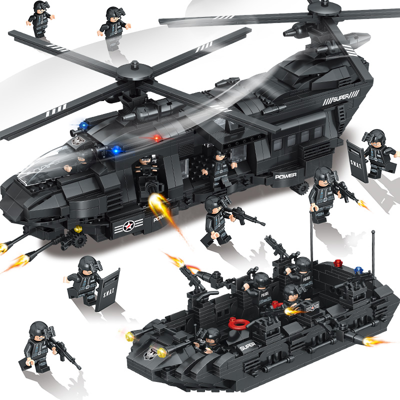 lego helicopter army with Wholesale Lego Swat on Lego City 2017 Fishing Boat Review 60147 likewise Mylegoarmybase as well 7695045272 also Ah 6j Little Bird together with 4241852507.