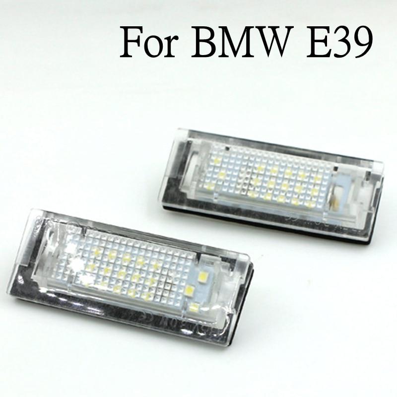 2x безотказный светодиодный номерной знак для BMW E39 5D 5 Door Wagon Touring