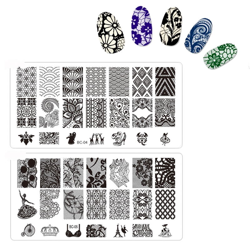 21 stencils nail examples