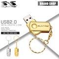 Suntrsi pendrive usb flash drive de 64 gb mini metal caneta chaveiro Drive USB Logotipo Personalizado Vara Flash Drive USB de Aço da Mancha 2.0