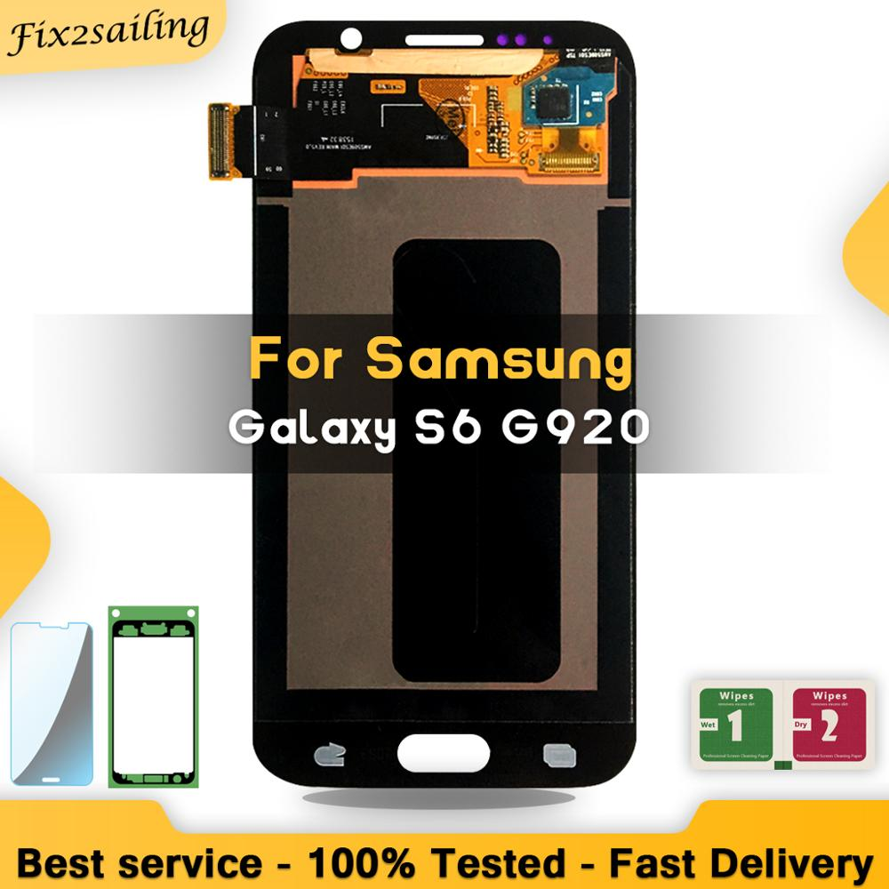 5.1 SUPER AMOLED LCD Display For SAMSUNG Galaxy S6 G920 G920F Touch Screen Digitizer Assembly5.1 SUPER AMOLED LCD Display For SAMSUNG Galaxy S6 G920 G920F Touch Screen Digitizer Assembly