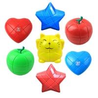 Educational Learning Toys For Children Christmas Gifts Kids Apple Star Strange Sharp Magic Speed Cube Fidget Finger Magico Cubo
