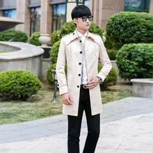 Spring autumn korean 2020 new designer mens trench coats man long coat men cloth