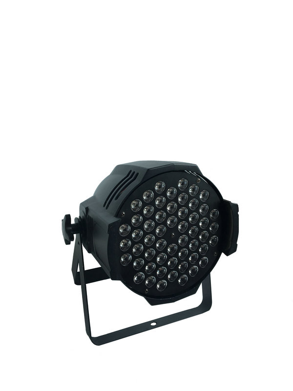 4X LOT High Quality CE Approved RGBW 54*3W LED Par Light Stage Par64 Light High Quality DMX LED LIGHT Aluminum LED Par Can