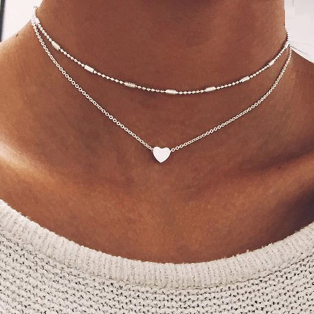 Products Necessaries Personality Trend Special Love Heart Accessories Excellent Necklace Trendy