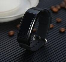 Pulsuhr Smart Band IP68 Wasserdichte intelligente uhr Pulsmesser Bluetooth smartWatch Für apple huawei IOS Android
