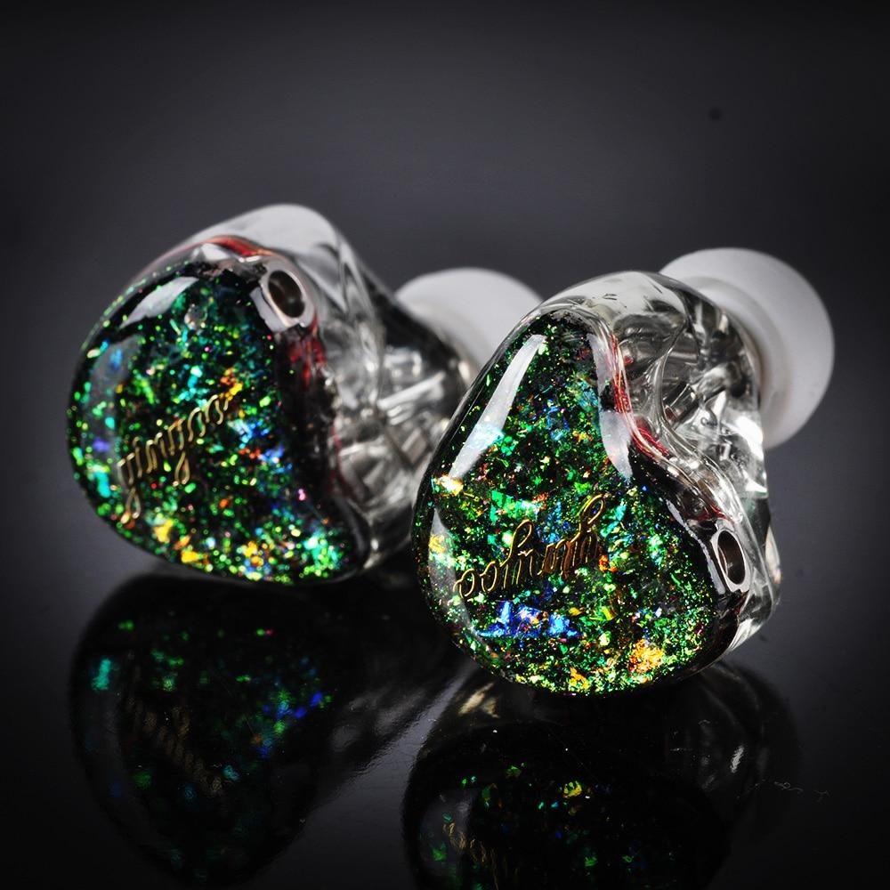 AK Yinyoo HQ12 12BA In Ear Earphone Custom Made Balanced Armature Earphone Headset Earbud Headplug 8 Core Silver Cable