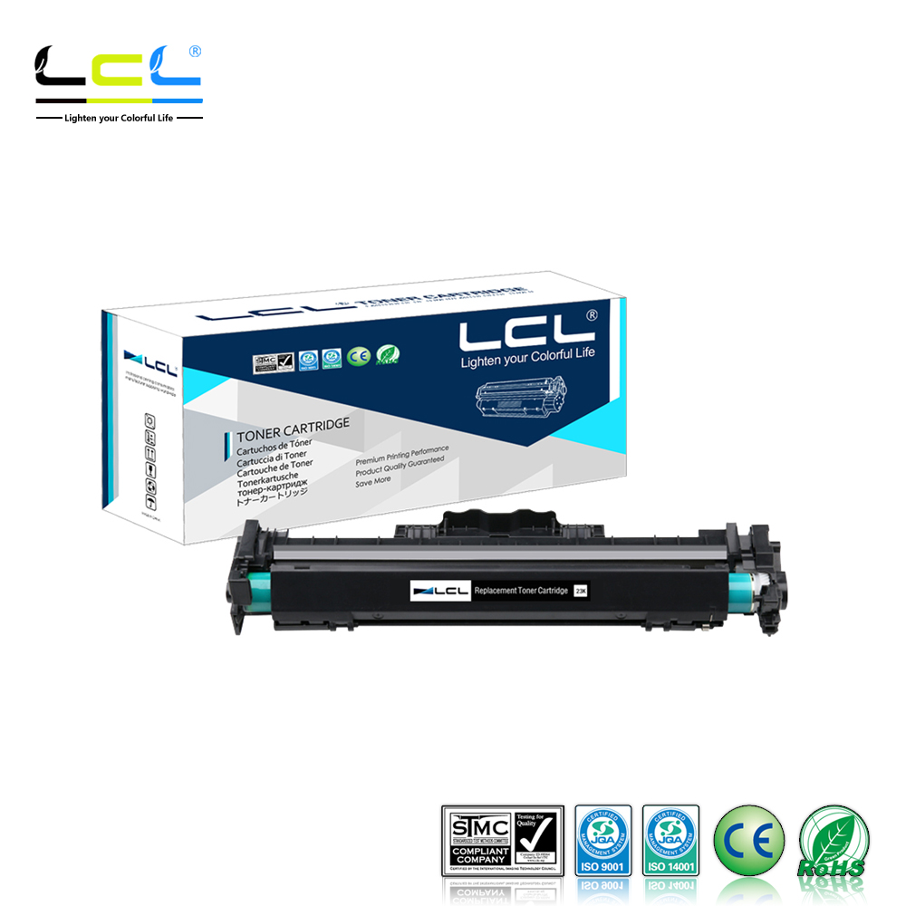 LCL 32A CF232A (1-Pack Black) Laser Drum With Chip Compatible for HP LaserJet Pro M203dn 203dw MFP M227fdw/227sdn 1x black compatible hp cf230a 30a toner cartridge for hp laserjet m203d m203dn m203dw mfp m227fdn m227fdw no chip