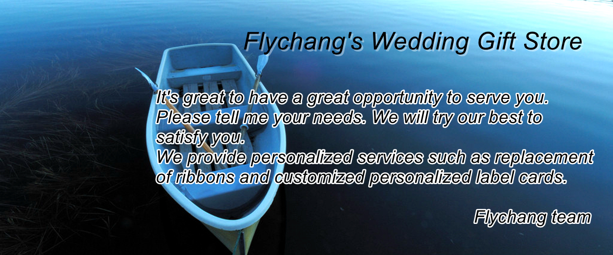 Flychangs Wedding Gift Store Small Orders Online Store Hot