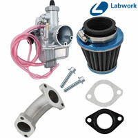 Novo Kit Carburador Carb para DHZ Dirt Bike CRF70 KLX SSR Mikuni VM22 26mm Frete Grátis|Carburadores|   -