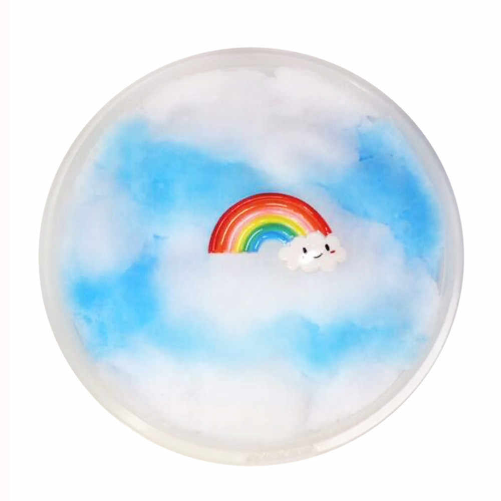 60ml Flaky Clouds Mud Mixing Cloud Slime Scented Stress Kids Clay Toy Kids Clay Relax Gifts