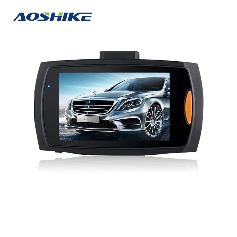 Aoshike coche DVR Cámara G30 720 P 140 grado Video Dashcam registradores para coches noche visión G-Sensor Dash cámara del coche DVR
