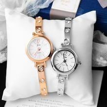 1pc ladies watch clock Newly Design Students Watches Charm Casual Quartz Wristwatch Simple Fashion gift cute Alloy round  X3