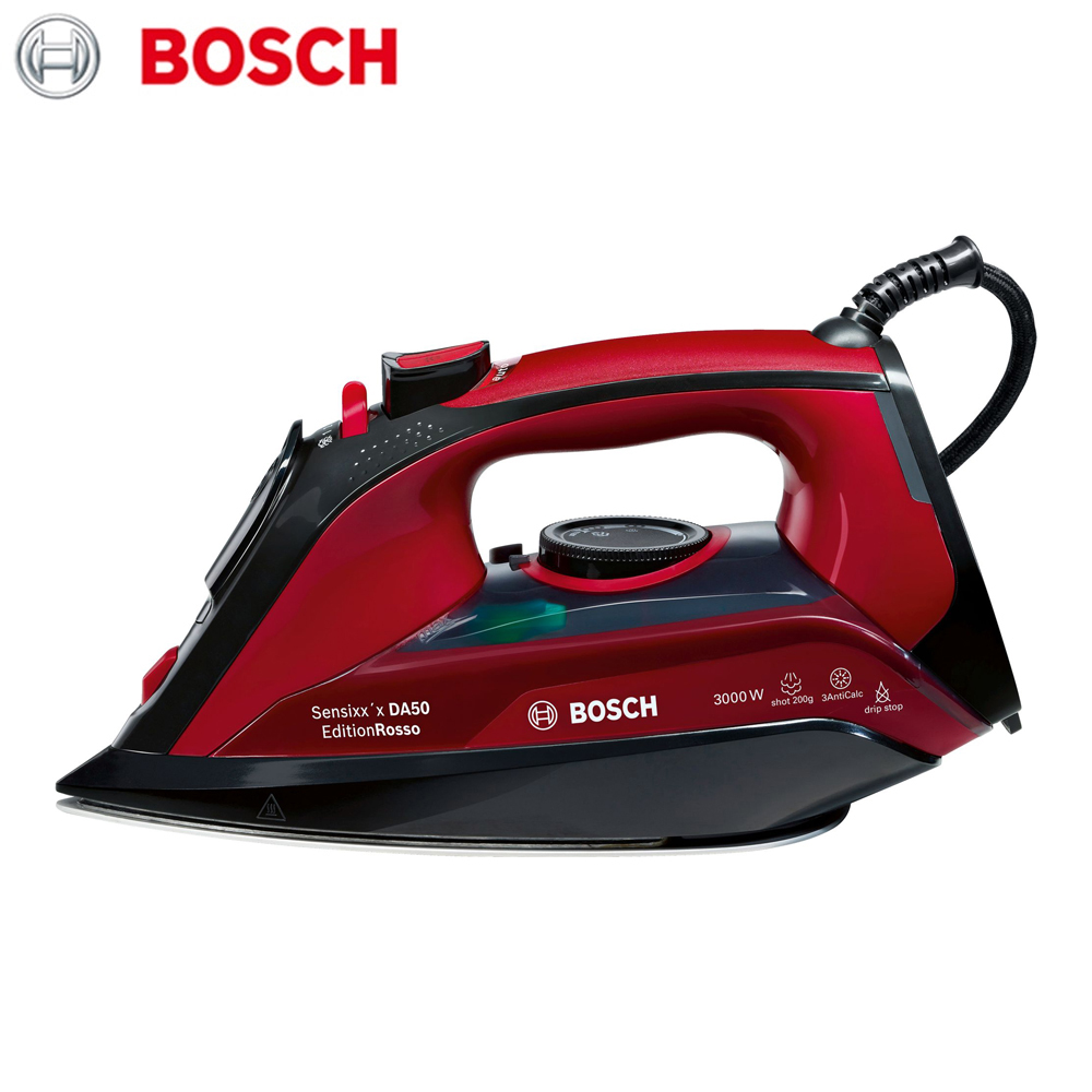 Electric Irons Bosch TDA503011P household appliances laundry steam iron ironing clothes цена и фото