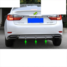 цены lsrtw2017 abs sport styling car rear bumper for lexus es250 es200 es300h 2012 2013 2014 2015 2016 2017 2018 xv60