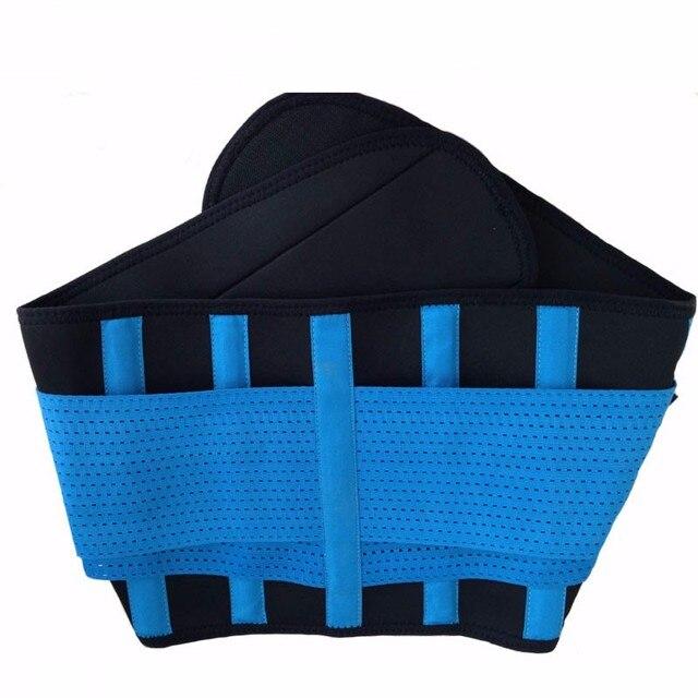 Plus Size Firm Waist support belt Sweat Belt Slimming Women waist support unisex back support Fitness waist trimmer 2