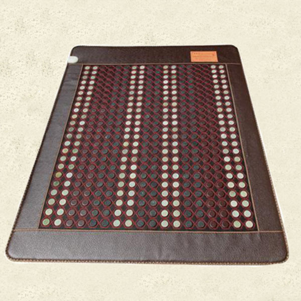 Free Shipping Jade Germanium Stone Heated Pad Heated Cushion Tourmaline for Health Care for Sale 2016