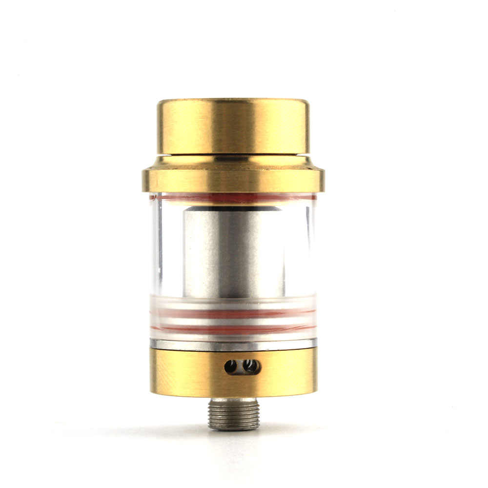 Coil Father Smile RTA Atomizer 22mm Diameter Vaporizer 810 Thread Stainless Steel Electronic Cigarette Vape Tank