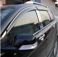 Car Door Window Visor Wind Rain Sun Guards Visor Vent Trims For BMW Infiniti FX35 FX37