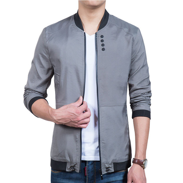 Aliexpress.com : Buy New spring autumn casual stand collar jacket ...