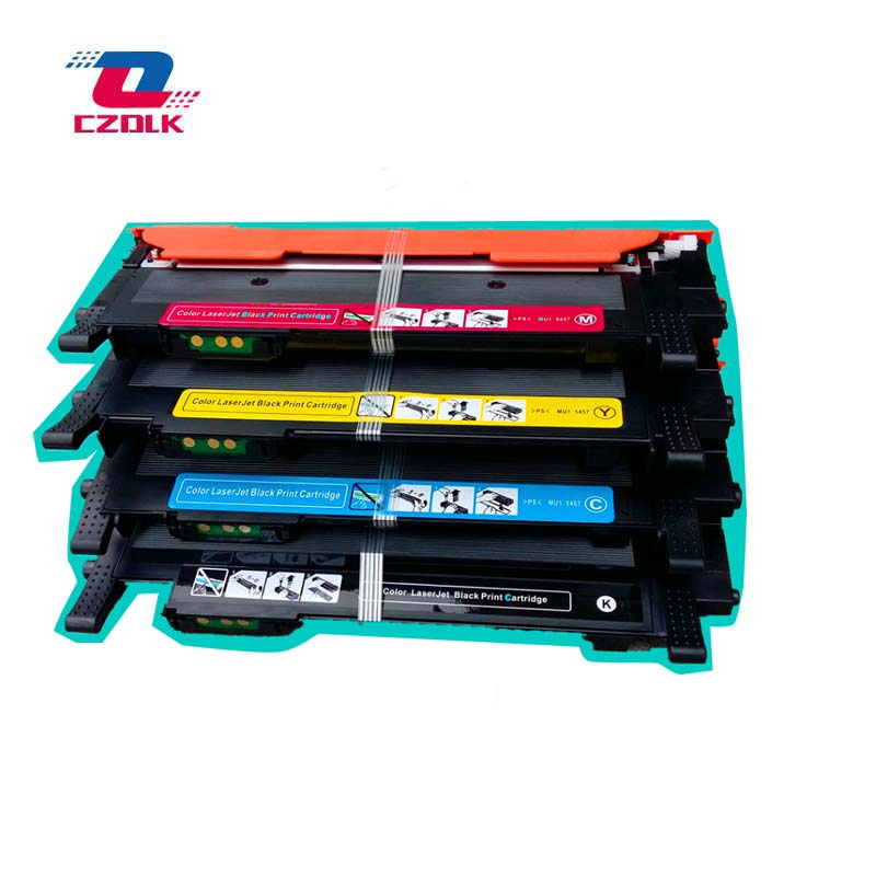 1set X New Compatible CLT-M404S M404S clt-404s CLTK404S CLT-Y404S 404S toner cartridge for Samsung C430 C430W C433W C480W FW clt404s 404s printer toner cartridge compatible for samsung xpress sl c430 c430w c433w c480 c480w c480fn c480fw 1pcs lot