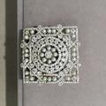 Естественный пресноводный жемчуг брошь пен маленькой жемчужиной 925 sterlig silver with cubic циркон площади китая шаблон ювелирные изделия